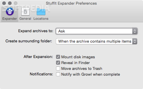 StuffIt Expander Mac 16 0 5 Build 6330 - Download