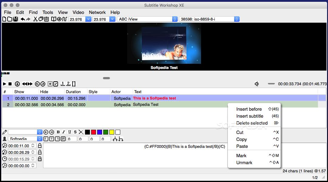 download subtitle workshop xe mac 6 01 r7 beta rh mac softpedia com Store Workshop Manual subtitle workshop user manual