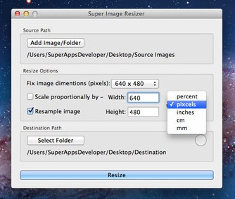 Super Image Resizer screenshot 3