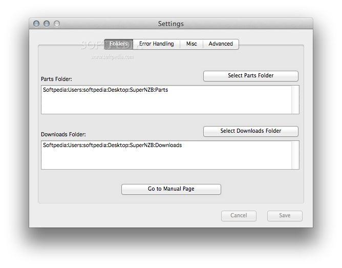 SuperNZB Mac 4 2 4 - Download