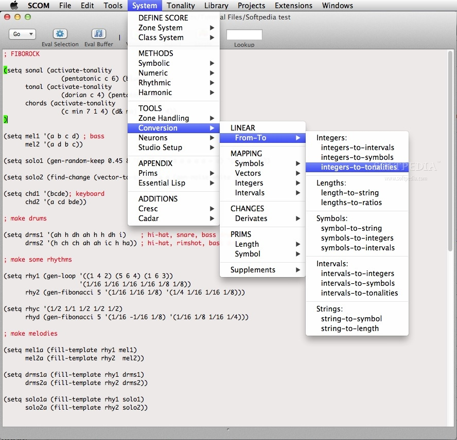 Symbolic Composer screenshot 4