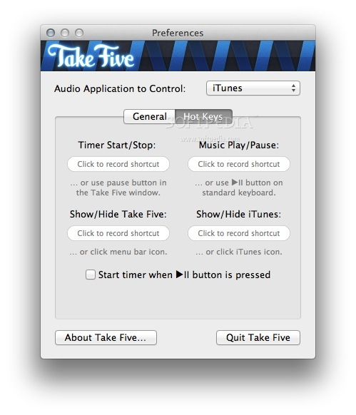 Take Five screenshot 4