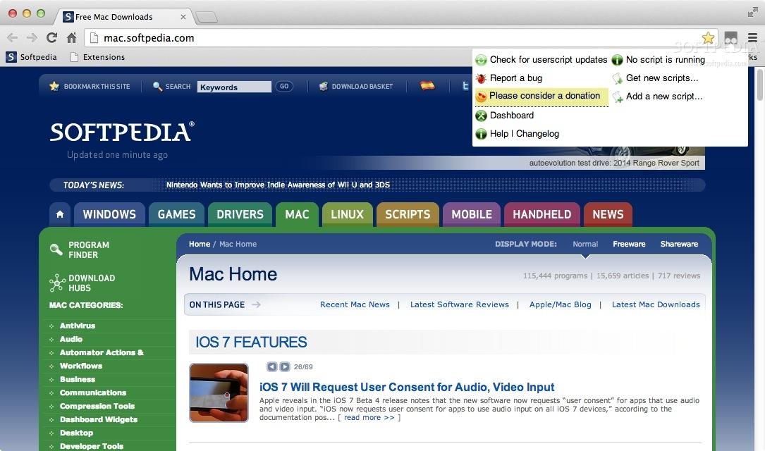Tampermonkey Mac 4 8 41 / 4 9 5960 Beta - Download