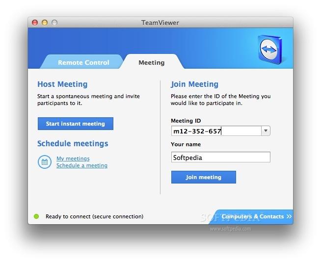 TeamViewer Mac 14 4 2669 - Download