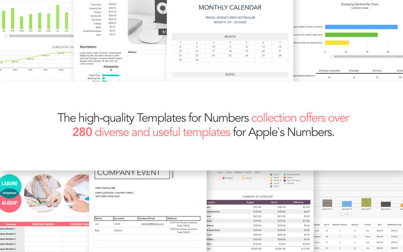 Download Design Templates For Numbers Mac 502