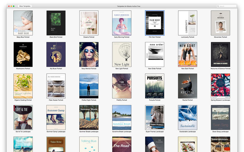 Templates for iBooks Author Mac 3 0 - Download