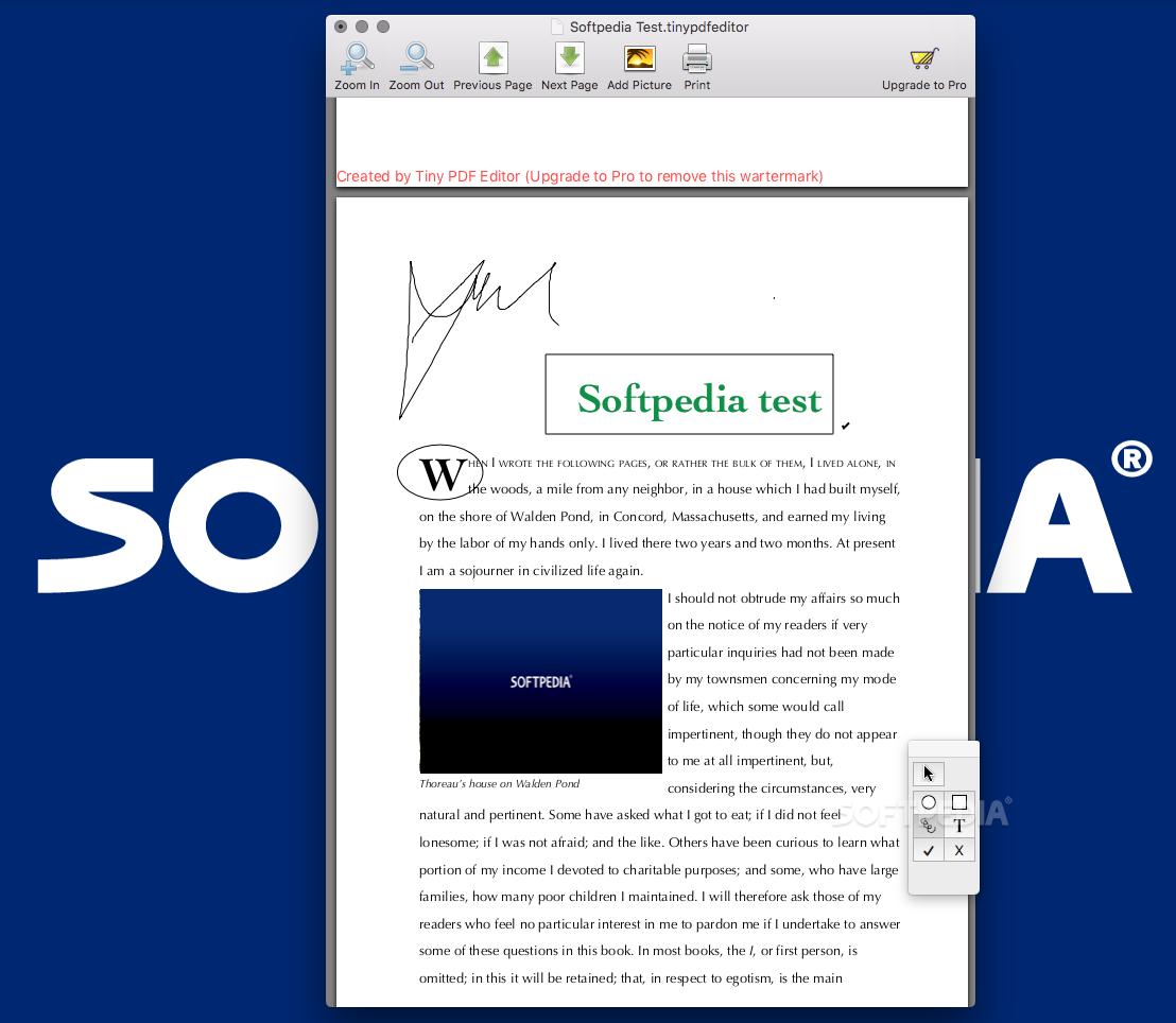 Tiny PDF Editor Mac 1 3 6 - Download