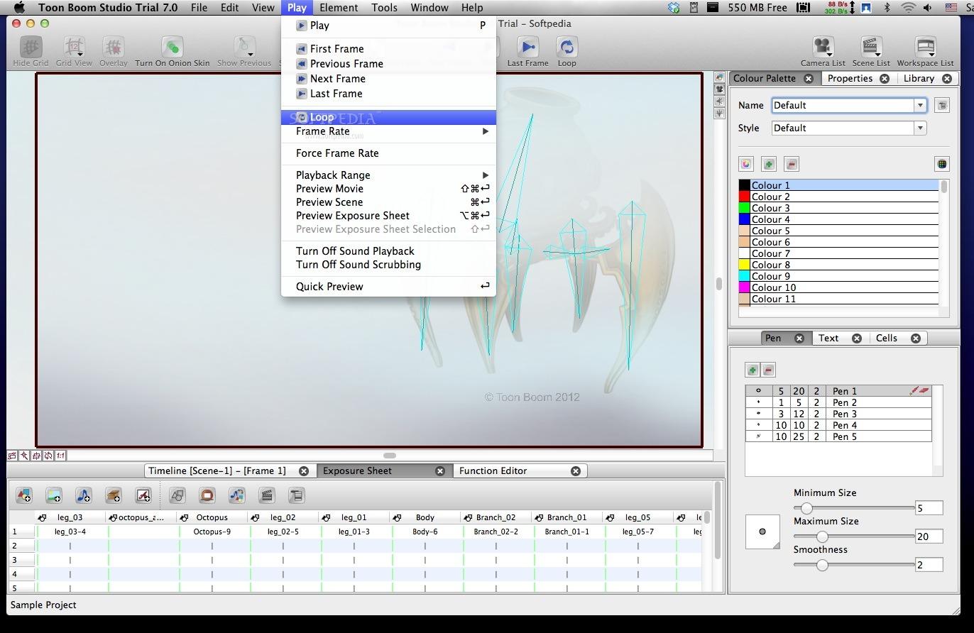 Toon Boom Studio Mac 8 0 19051 - Download
