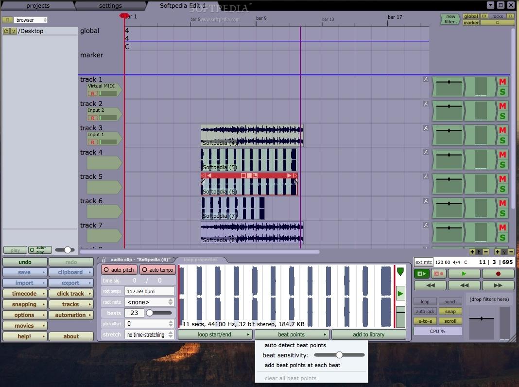Tracktion Mac 7 2 1 - Download