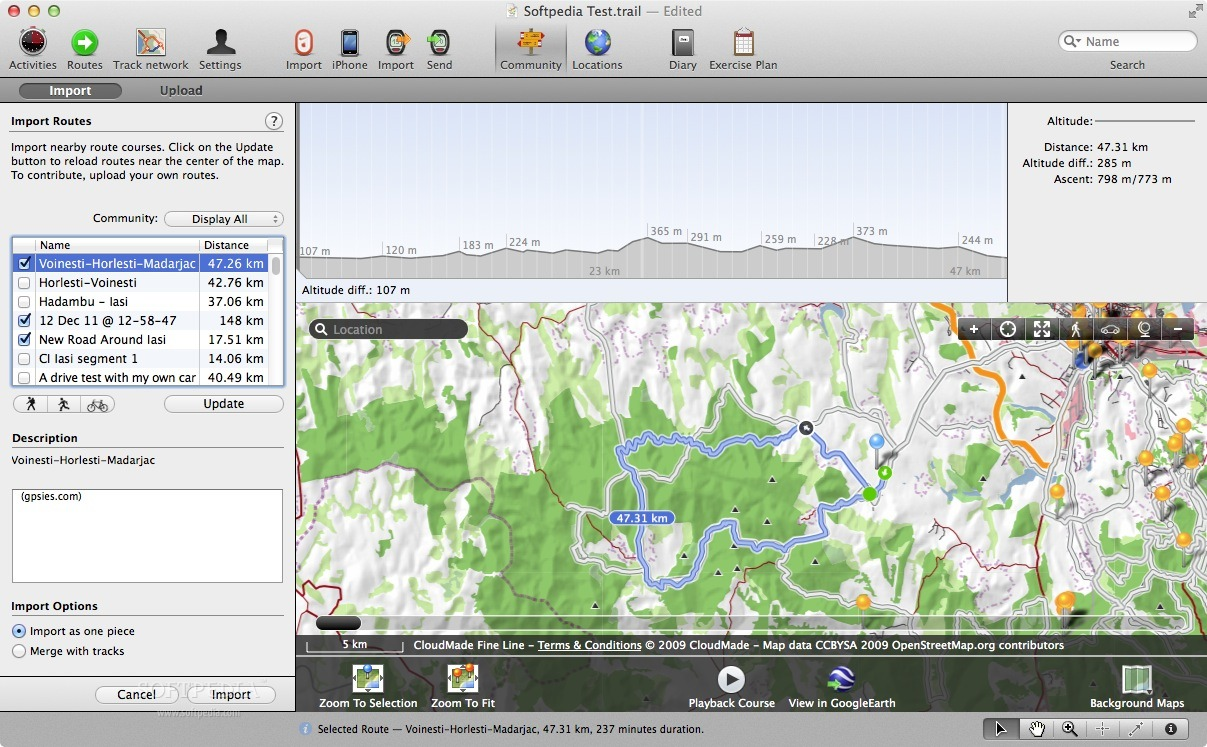 TrailRunner screenshot 3