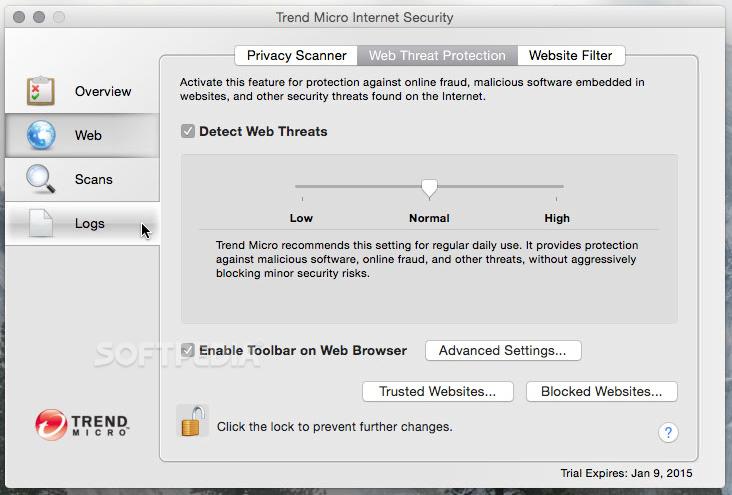 Trend Micro Internet Security Mac 6 0 2009 - Download