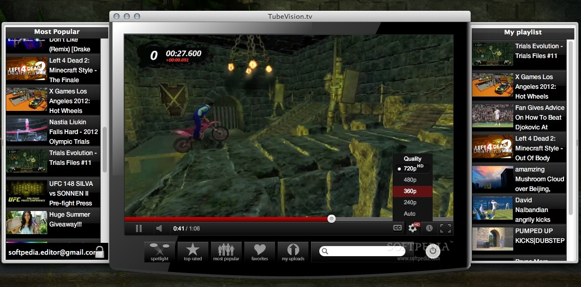 TubeVision.tv screenshot 1