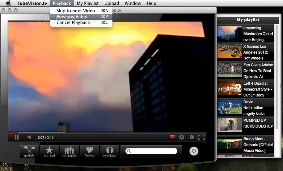 TubeVision.tv screenshot 2