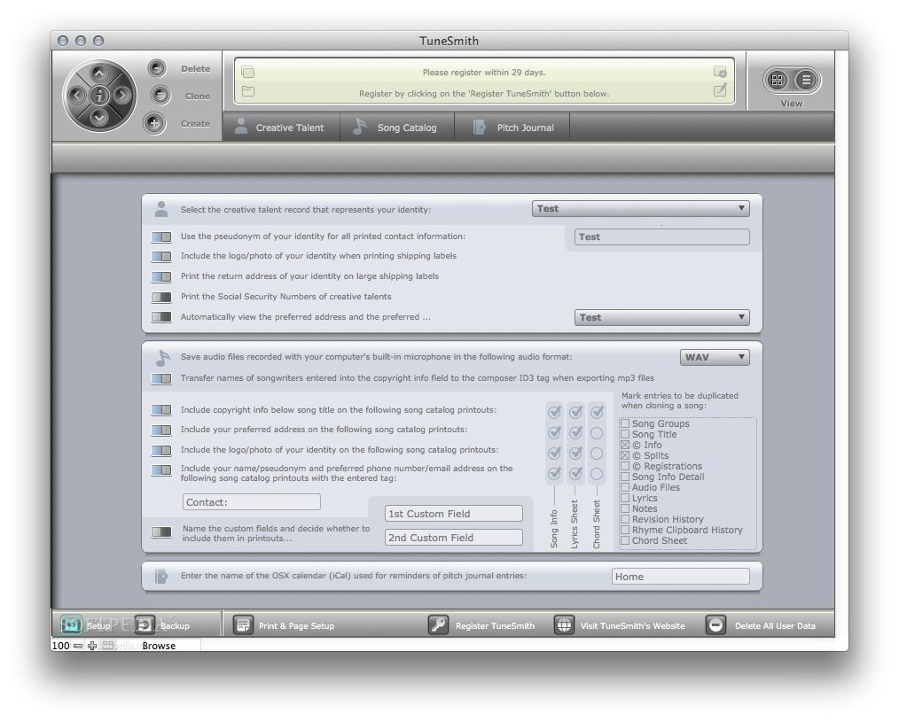 TuneSmith screenshot 4