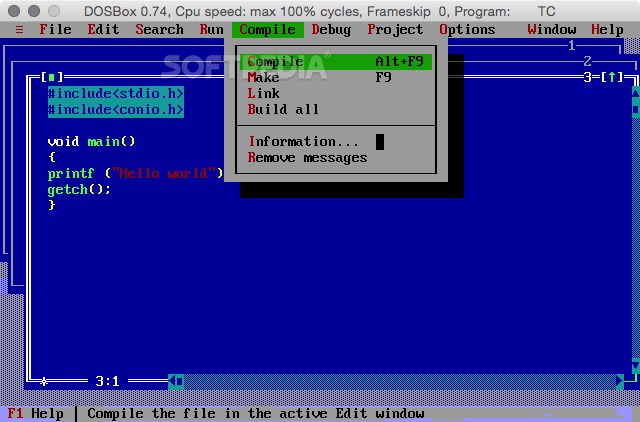 Turbo c for mac Download + Crack (Latest Version 2019)