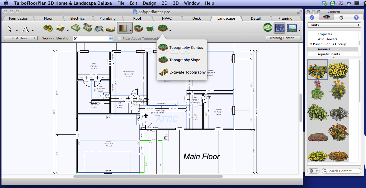 Download Turbofloorplan Home And Landscape Deluxe Mac 2017