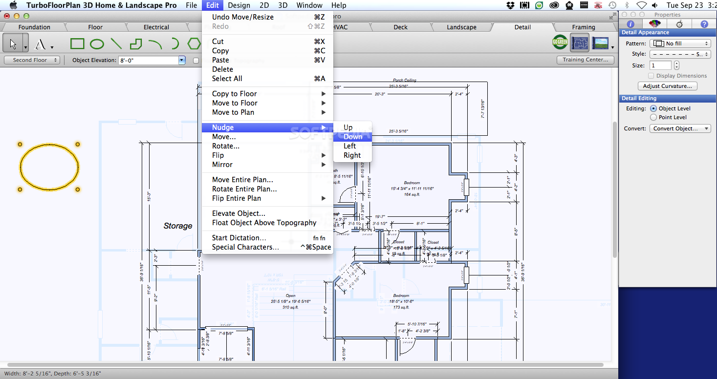 Download turbofloorplan 3d home landscape pro mac 19 0 7 for Plan 3d mac