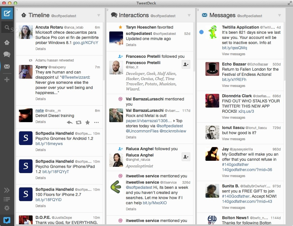 TweetDeck Mac 3 16 1 - Download