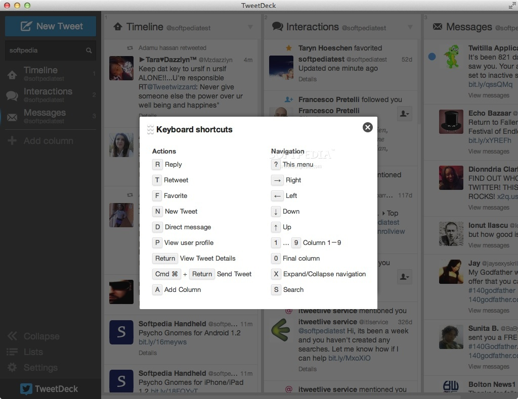 Tweetdeck update