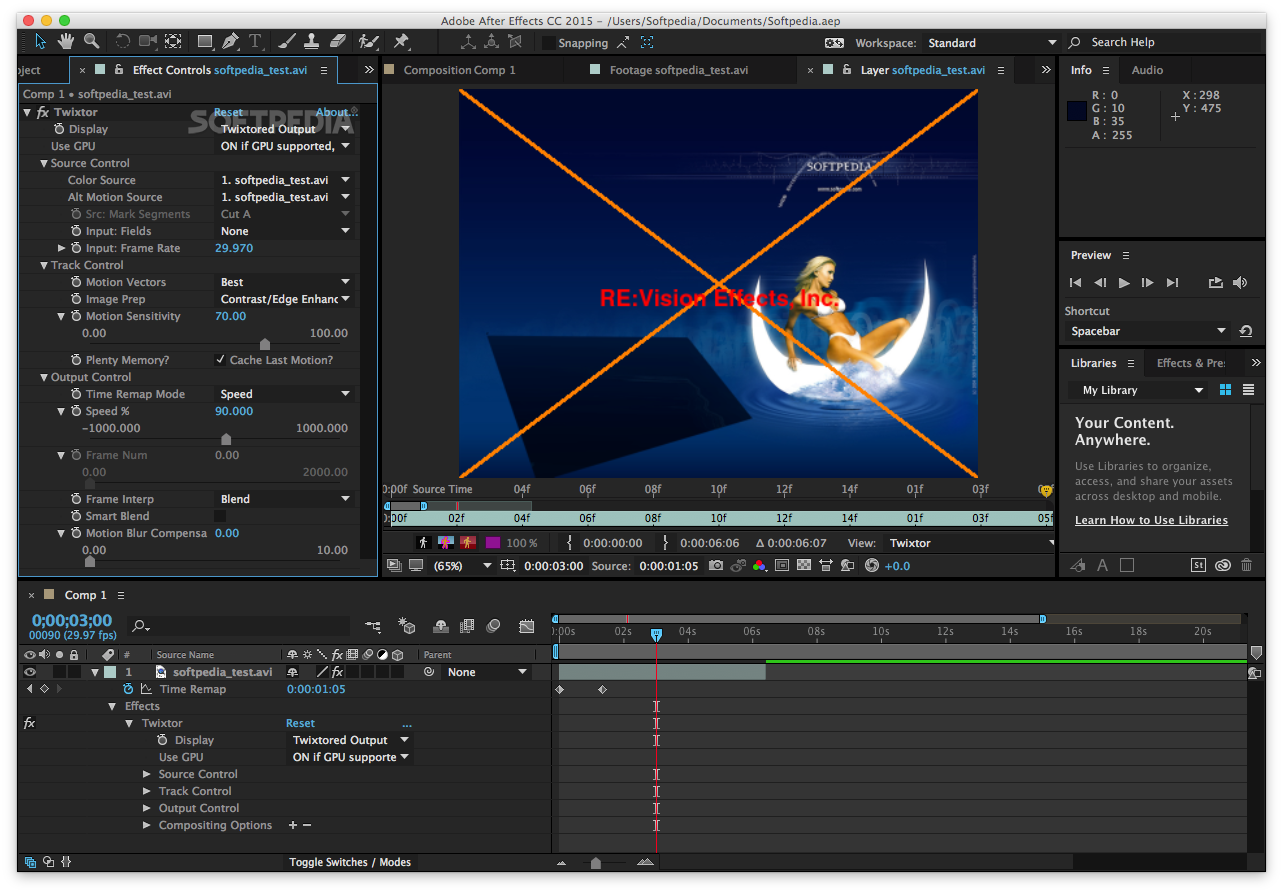 pics How to Use Twixtor in After Effects CS5