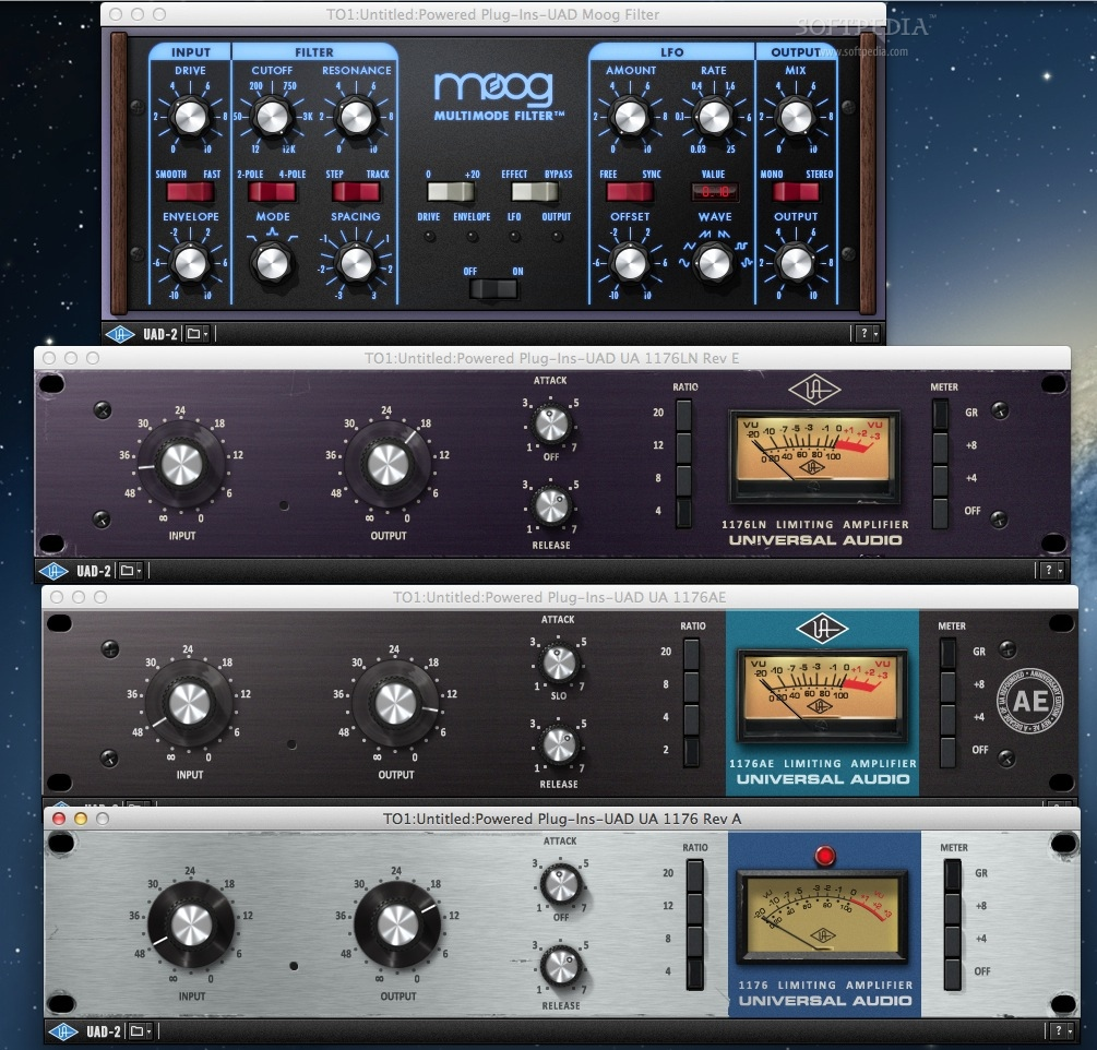 UAD Powered Plug-Ins Mac 9 6 0 - Download
