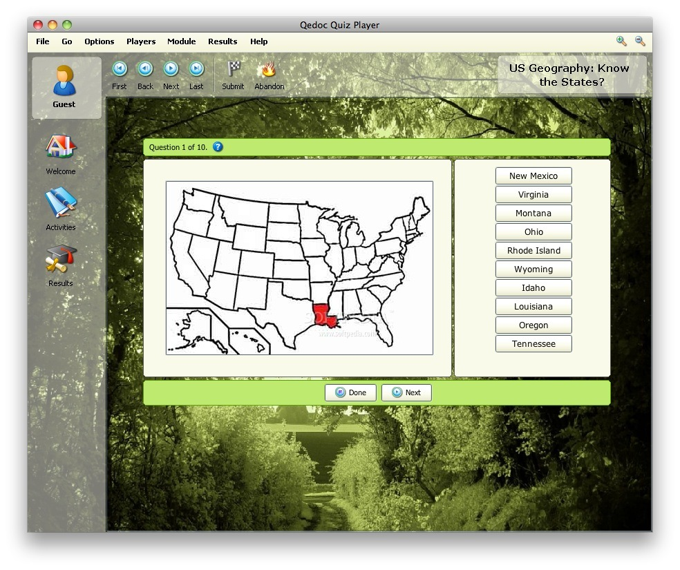 US Geography screenshot 1