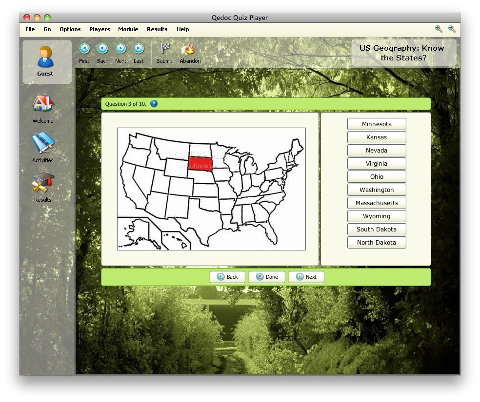 US Geography screenshot 2
