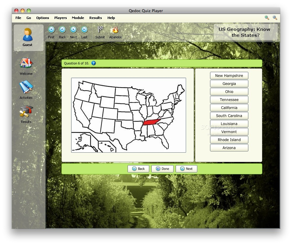 US Geography screenshot 3