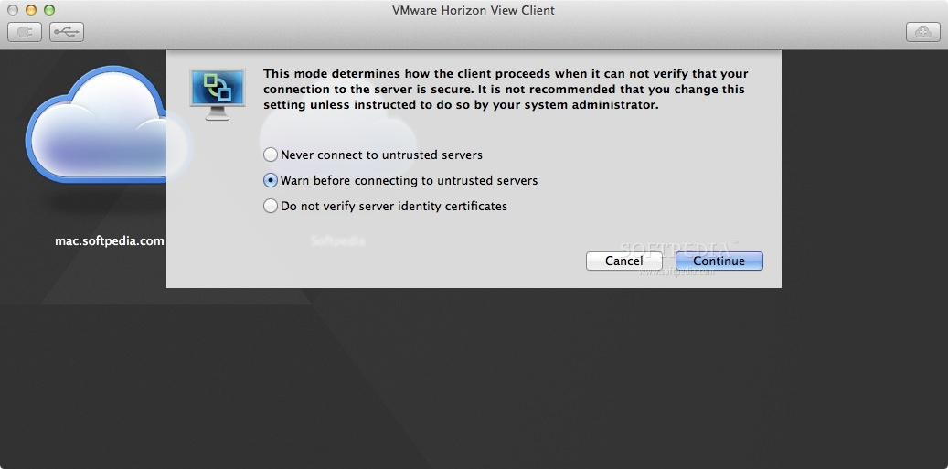 VMware Horizon Client Mac 4 8 0 - Download