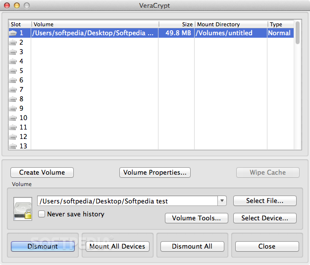 veracrypt mac