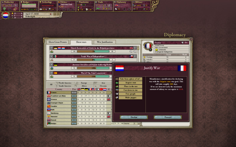 Victoria 2 A House Divided screenshot 1