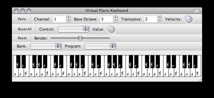 midi virtual keyboard mac