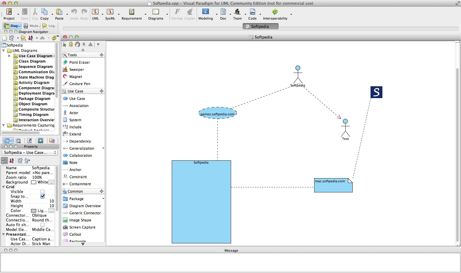 Download Visual Paradigm For Uml Community Edition Mac 151 Build Use Case Diagram On How To Draw Constraints 20181103