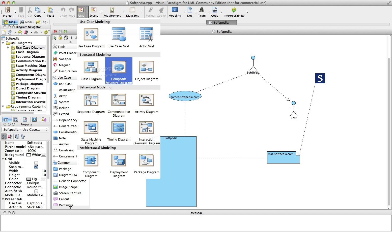 Visual Paradigm for UML Community Edition Mac 16.1 Build ...
