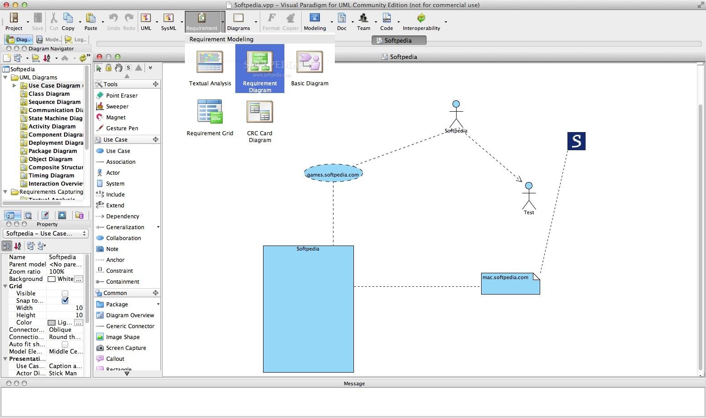 visual paradigm for uml modeler edition free download