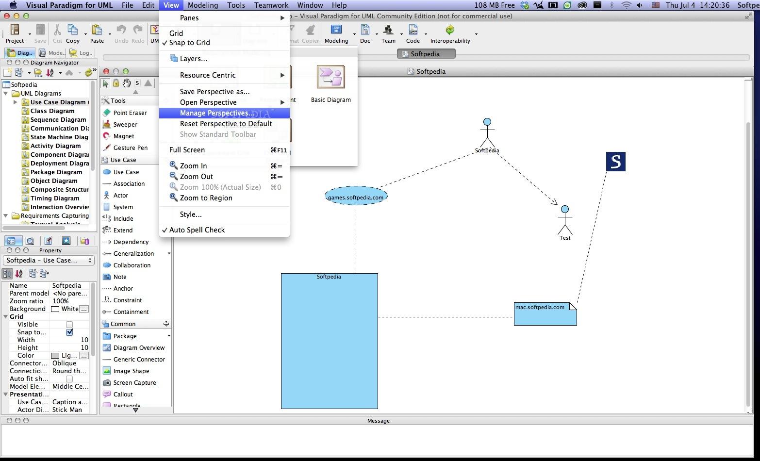 Visual paradigm for mac