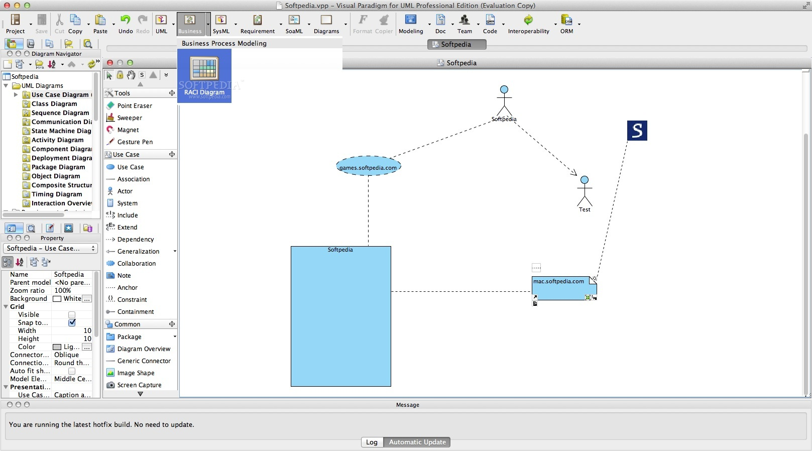 Visual Paradigm for UML Enterprise Edition Mac 16.1 Build ...