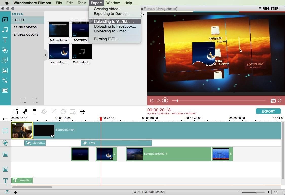 Wondershare Filmora Mac 8 7 4 - Download