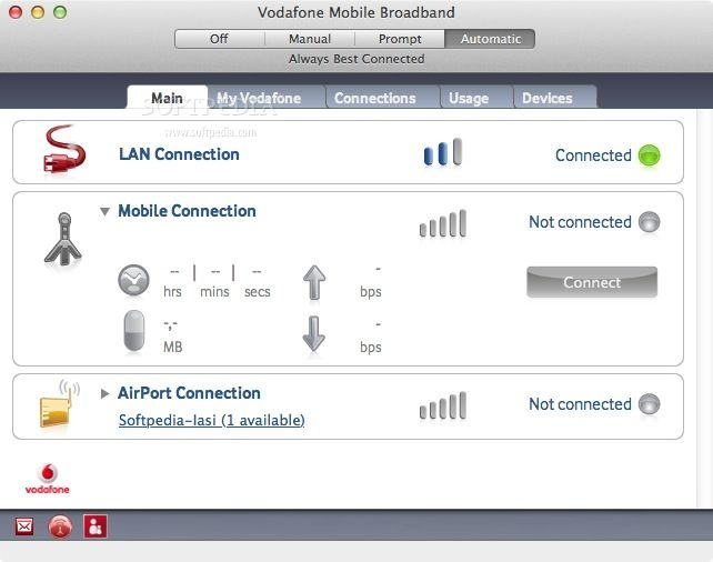 Vodafone Mobile Broadband Mac 4 09 17 00 - Download