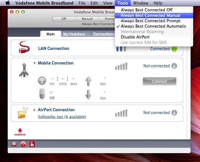 Vodafone Mobile Broadband Mac 4 09 17 00 - Download