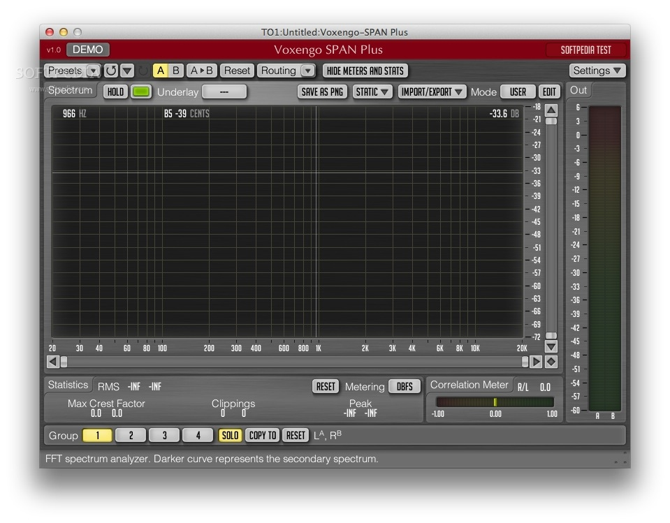 Voxengo SPAN Plus Mac 1 2 - Download