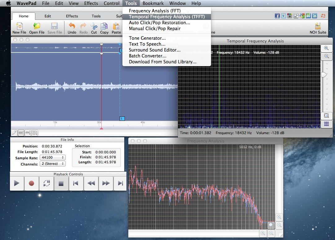 Wavepad Audio Editor Audio Editing Software Mac