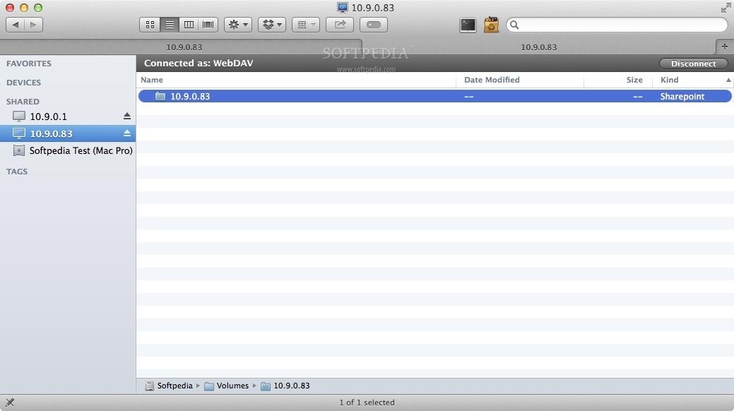 WebDAVNav Server Mac 2 7 - Download