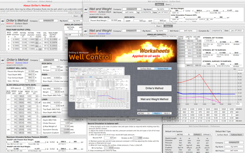 Well Control Worksheets screenshot 3
