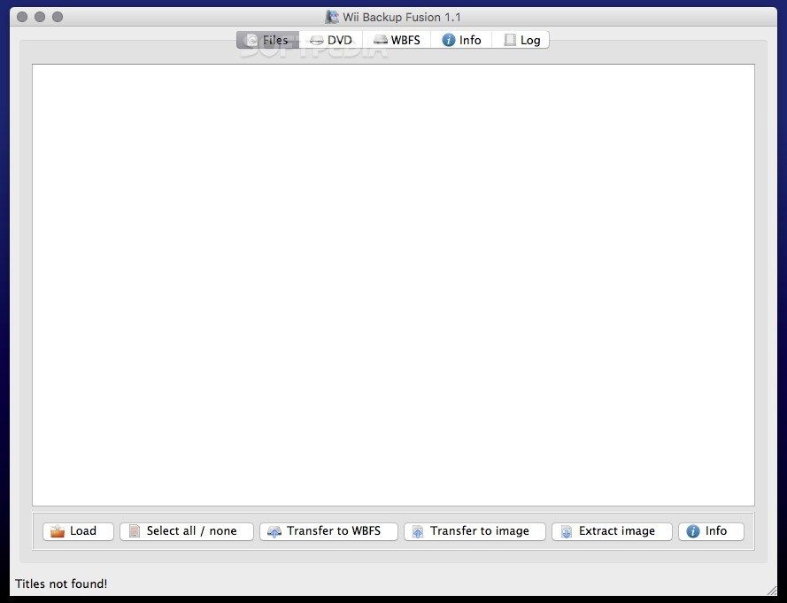 Wii Backup Fusion Mac Download