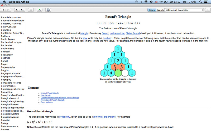 Wiki Offline - 80+ Languages of Wikipedia screenshot 2