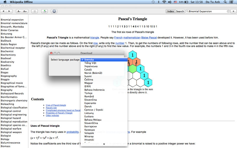 Wiki Offline - 80+ Languages of Wikipedia screenshot 3