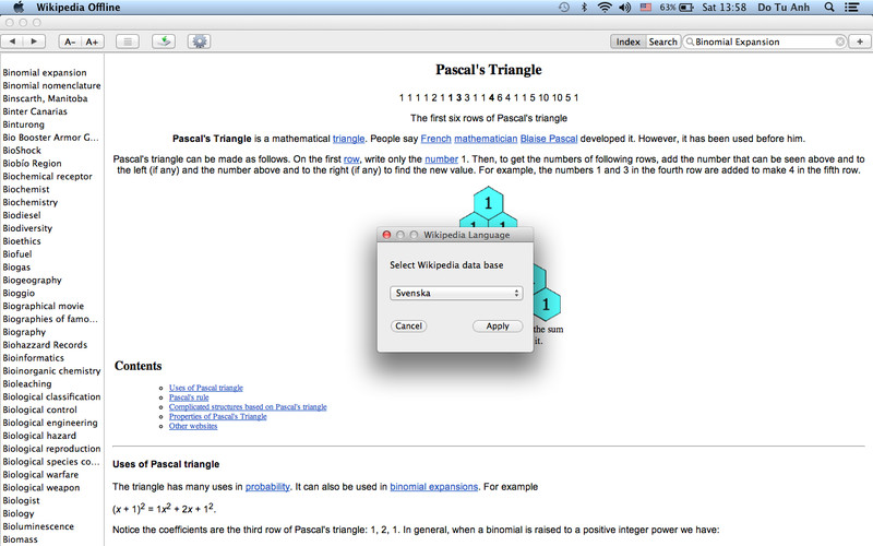 Wiki Offline - 80+ Languages of Wikipedia screenshot 5