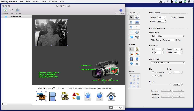Webbased webcam capture