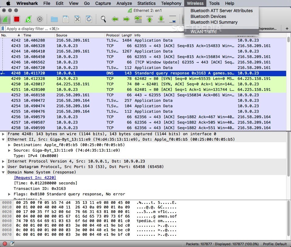 ubuntu how to download wireshark